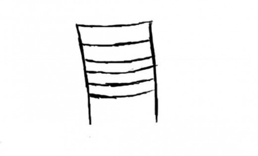 Two lines of chairs clipart picture free download How to Draw a Chair | FeltMagnet picture free download