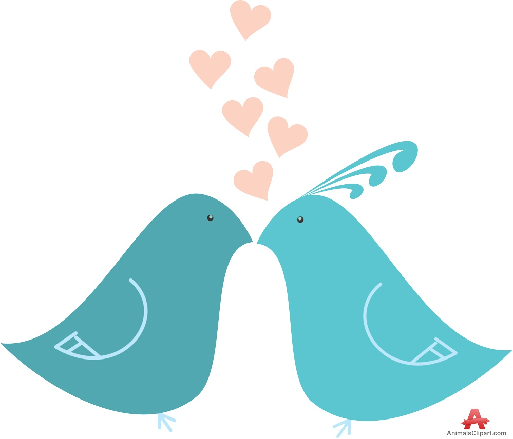 Two lovers clipart