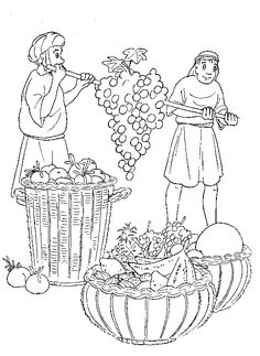 Two men carrying grapes clipart clip art 11 Best Joshua and Caleb images in 2014   Sunday school ... clip art