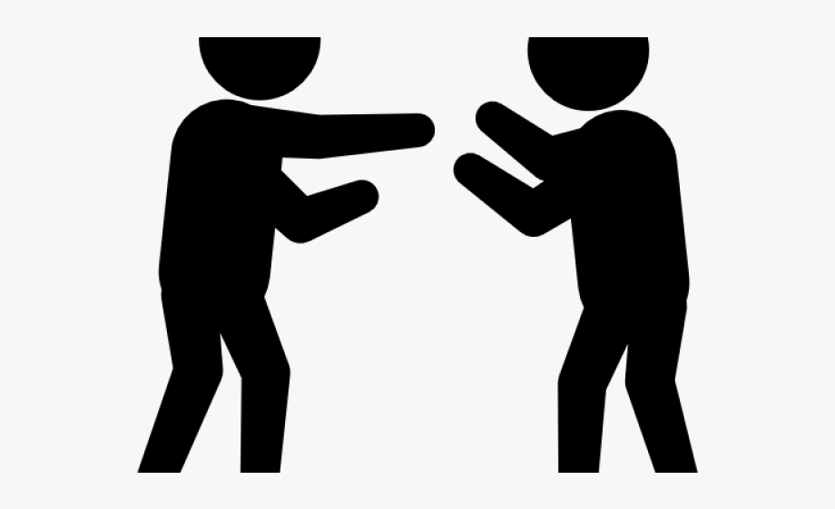 Two people arguing clipart jpg freeuse library Two People Fighting - Two People Arguing Clipart #394461 ... jpg freeuse library