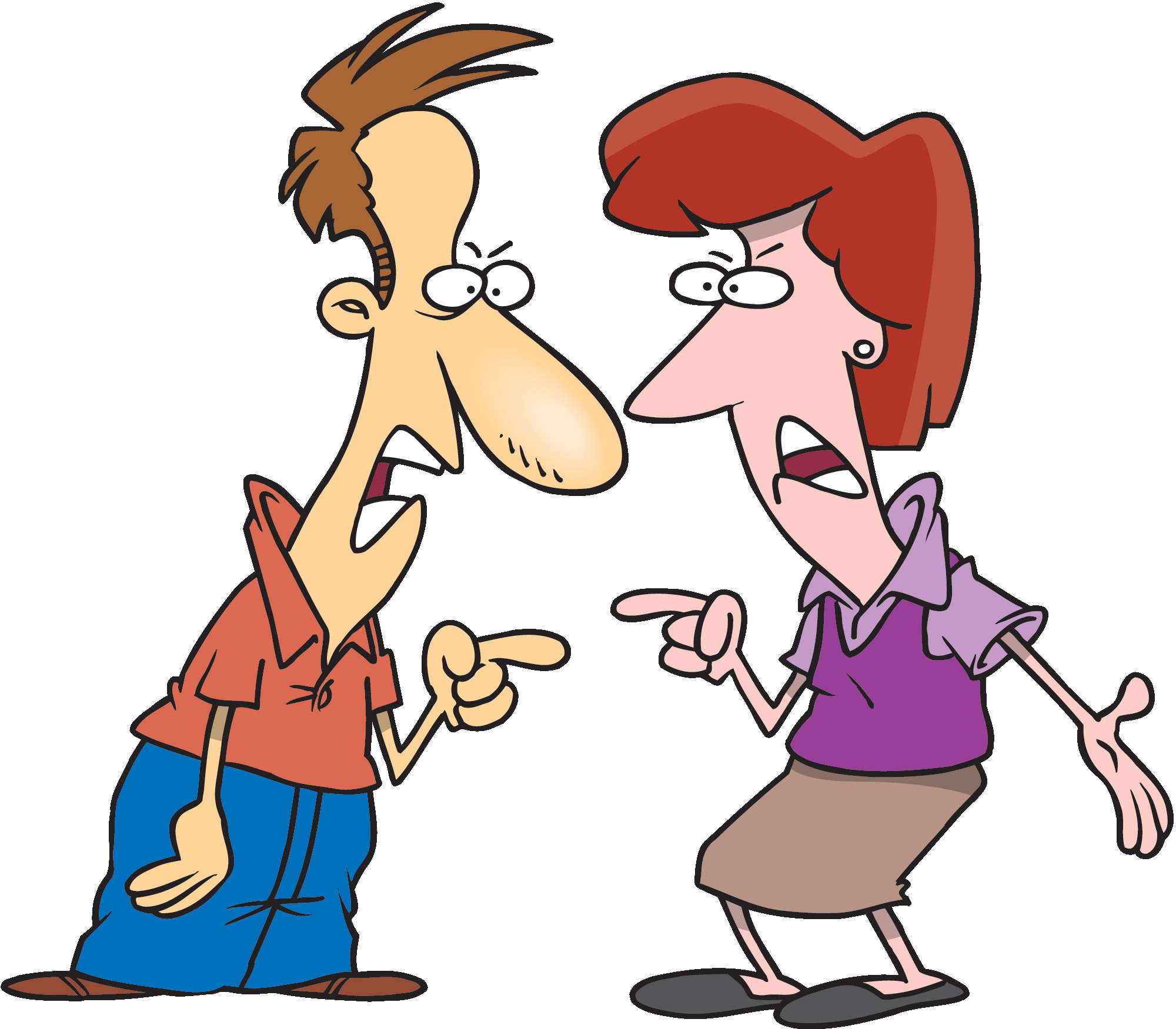 Two people arguing clipart transparent stock Arguing Clipart Group with 80+ items transparent stock