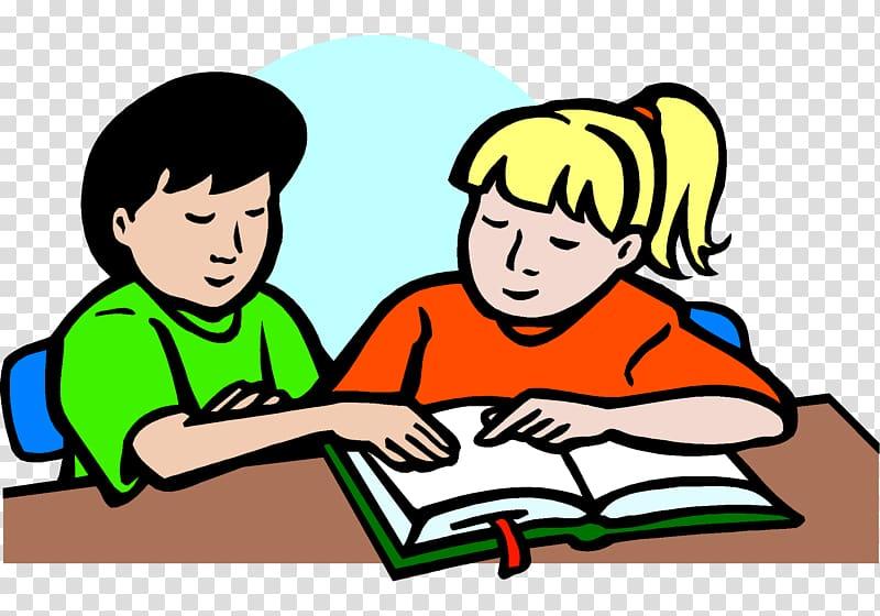 Two people doing homework clipart free stock Study skills Student Homework , teacher transparent ... free stock