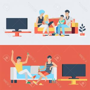 Two people doing homework clipart clip art free library Stock Illustration Two Students Doing Homework At | SOIDERGI clip art free library