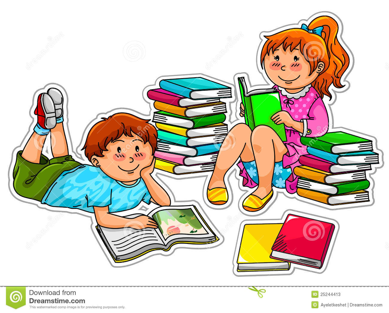 Two people doing homework clipart banner free Person Studying Clipart | Free download best Person Studying ... banner free