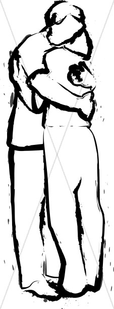 Two people hugging clipart clip black and white Pictures Of Hugging | Free download best Pictures Of Hugging ... clip black and white
