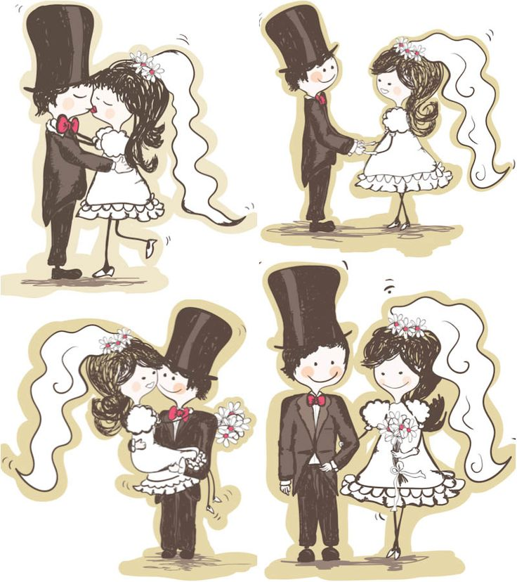 Two people kissing clipart wedding png black and white stock 17 Best images about ღ Clipart ~ Bride & Groom ღ on Pinterest ... png black and white stock