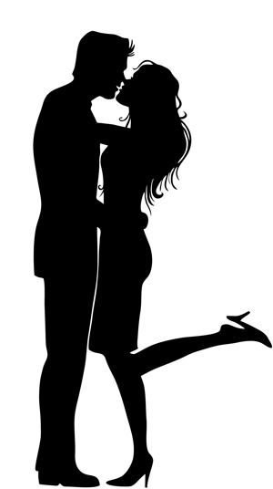 Two people kissing clipart wedding jpg So God created man in his own likeness. He created him in the ... jpg