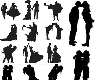Two people kissing clipart wedding clip art download Silhouette Of People Kissing | Free Download Clip Art | Free Clip ... clip art download