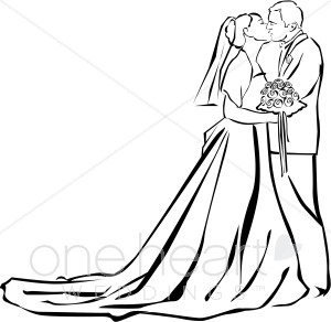 Two people kissing clipart wedding clip art black and white stock Two people kissing clipart wedding - ClipartFox clip art black and white stock
