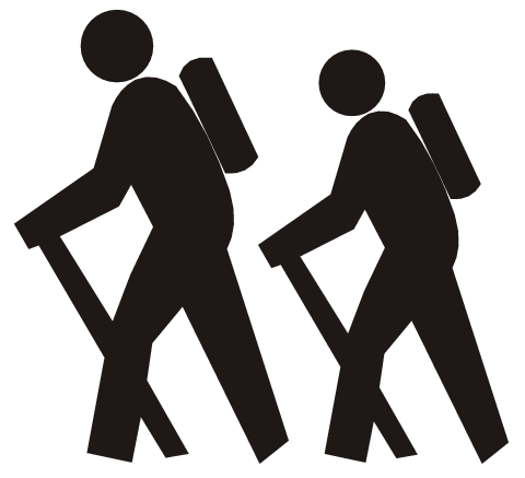 Two people walking together clipart clipart royalty free Free Walking Group Cliparts, Download Free Clip Art, Free ... clipart royalty free