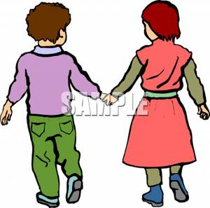 Two people walking together clipart clip art black and white library People Walking Images | Free download best People Walking ... clip art black and white library