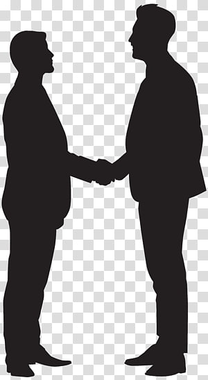Two soldiers shaking hands clipart banner download Businessperson Silhouette Handshake, shake hands transparent ... banner download
