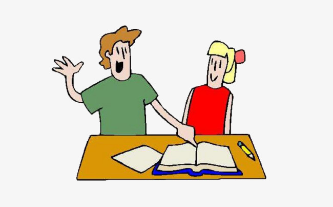 Two students working together clipart graphic freeuse library Two Students Working Together Clipart (107+ images in ... graphic freeuse library