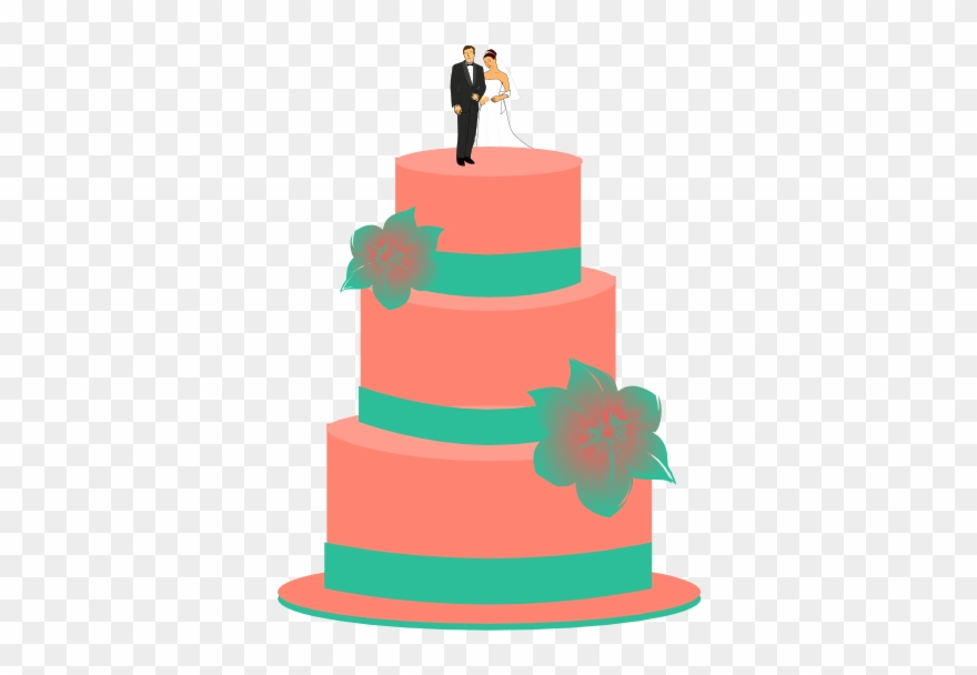 Two tiered cake clipart black and white svg freeuse Icing Clipart Two Tier Cake - Wedding Cake Cliparts Png ... svg freeuse