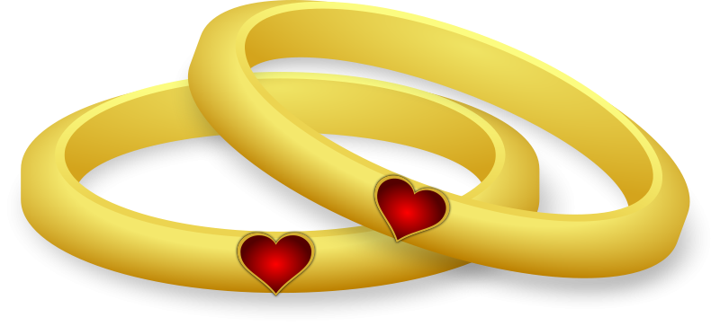Two wedding rings clipart svg library stock Wedding Ring Clipart – Gclipart.com svg library stock