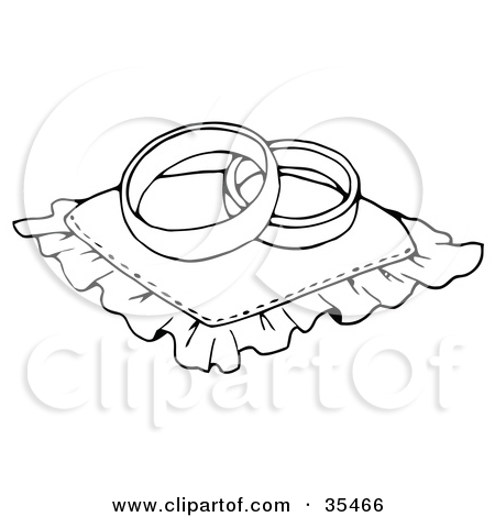 Two wedding rings clipart vector black and white stock Royalty-Free (RF) Wedding Ring Clipart, Illustrations, Vector ... vector black and white stock