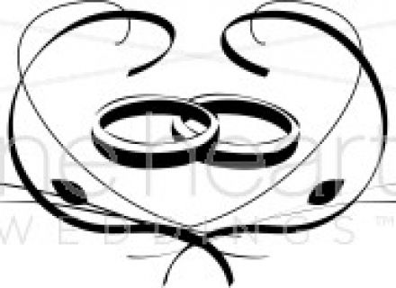 Two wedding rings clipart banner freeuse 1000 images about Ring tattoos on Pinterest Infinity wedding rings ... banner freeuse