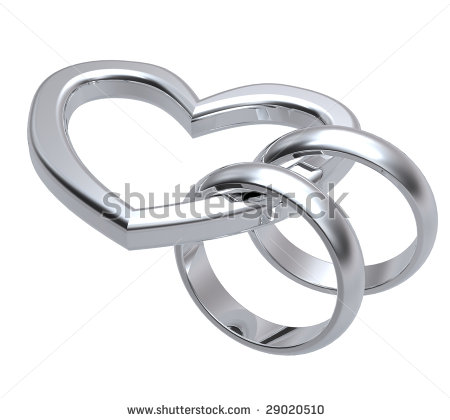 Two wedding rings clipart clip stock Silver wedding rings clipart - ClipartFest clip stock
