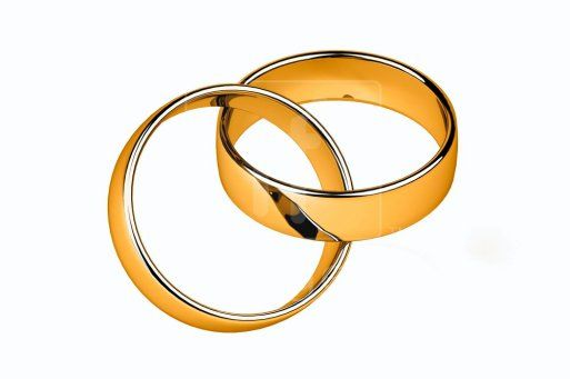 Two wedding rings clipart banner library library wedding ring clipart | Wedding Rings Public Domain Clip Art Image ... banner library library