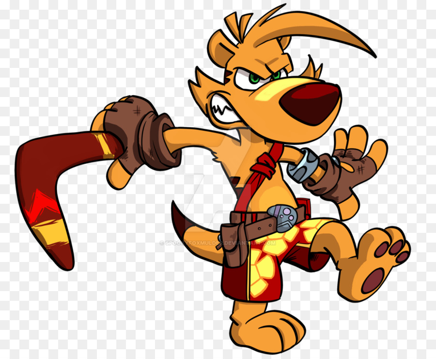 Ty the tasmanian tiger clipart graphic Tiger Cartoon png download - 1024*838 - Free Transparent Ty ... graphic