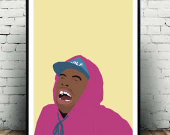 Tyler the creator clipart png freeuse download Tyler the creator | Etsy png freeuse download