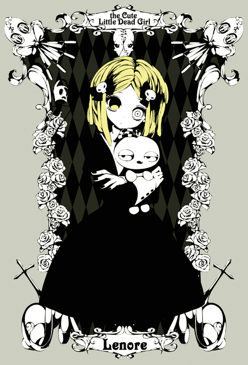 Tyluh clipart graphic royalty free library Lenore, The Cute Little Dead Girl | via Tumblr graphic royalty free library
