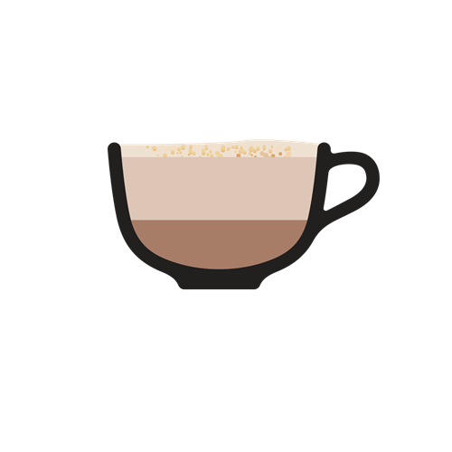 Types of coffee clipart banner stock Types of Coffee banner stock