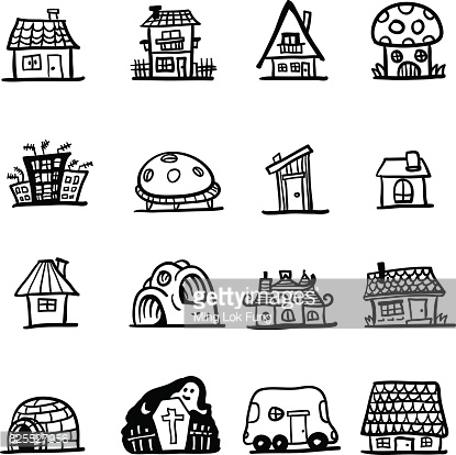 Types of houses clipart clip free library Types of houses clipart 7 » Clipart Station clip free library
