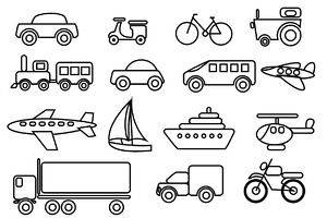 Transport clipart black and white free download Pictures-base.com - Transportation Clipart Black And White ... free download