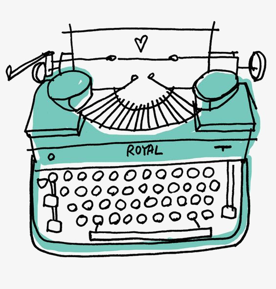 Typewriet clipart svg library library Typewriter clipart 5 » Clipart Station svg library library
