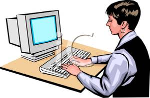 Typing in computer clipart graphic transparent Typing On Computer Clip Art – Clipart Free Download graphic transparent