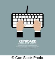 Typing keys clipart image library download Typing keyboard Vector Clip Art Royalty Free. 5,205 Typing ... image library download