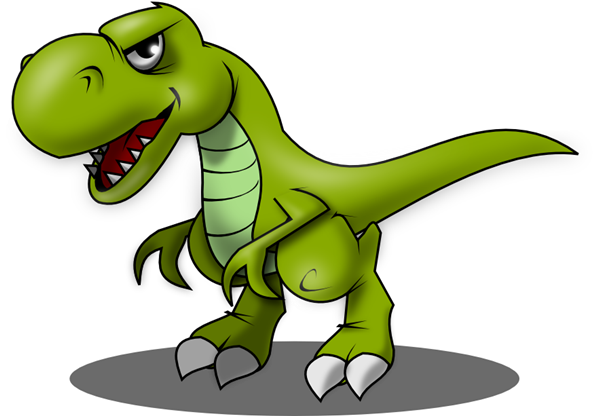 Tyrannosaurus rex clipart graphic black and white library Free T-Rex Cliparts, Download Free Clip Art, Free Clip Art ... graphic black and white library