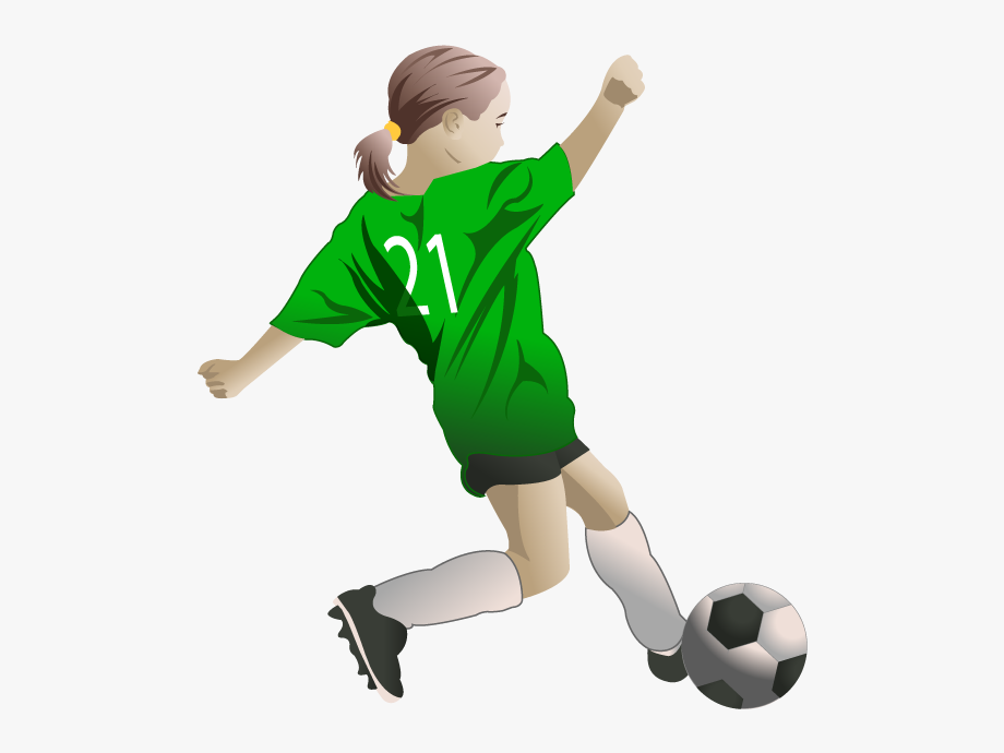 U s a soccer players cliparts clip free Free Girls Cliparts - Soccer Player Clipart Transparent ... clip free
