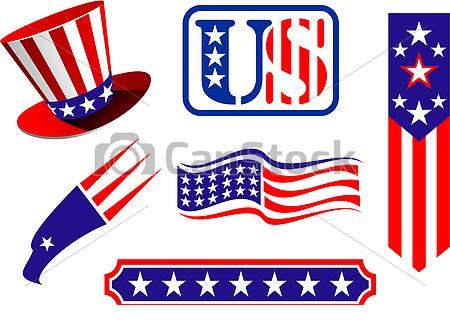 U s symbol clipart clip royalty free library Patriotic Symbols Clipart American Vector Csp - Clipart1001 ... clip royalty free library