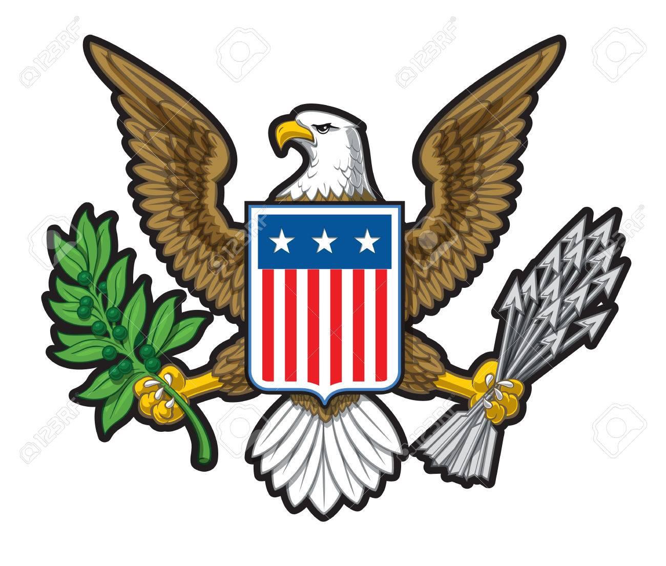 U s symbol clipart image Bald Eagle Clipart us symbol - Free Clipart on Gotravelaz.com image