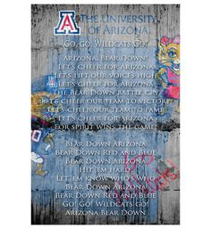 Ua bear down clipart vector transparent library 16 Best bear down images in 2016 | Arizona wildcats, College ... vector transparent library