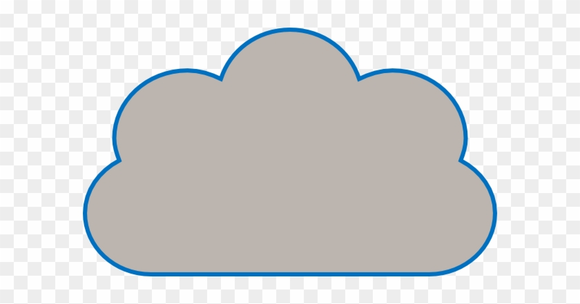 Ucaas clipart jpg library download Cloud Clip Art - Cloud With Flat Bottom - Free Transparent ... jpg library download