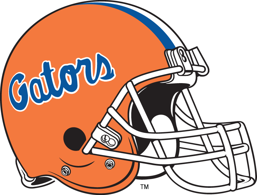 Uf football jersey clipart png freeuse library Florida Gators Helmet - NCAA Division I (d-h) (NCAA d-h ... png freeuse library