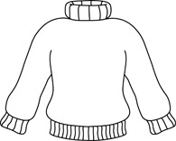 Ugly christmas sweater clipart black and white image black and white stock Free Sweater Cliparts, Download Free Clip Art, Free Clip Art ... image black and white stock