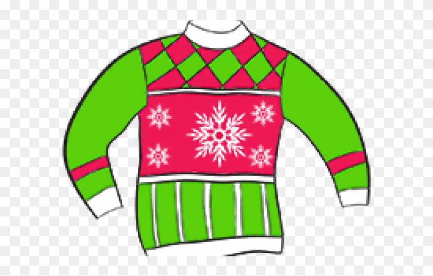 Ugly christmas sweater clipart png image download Crazy Clipart Sweater - Ugly Christmas Sweater Clipart No ... image download