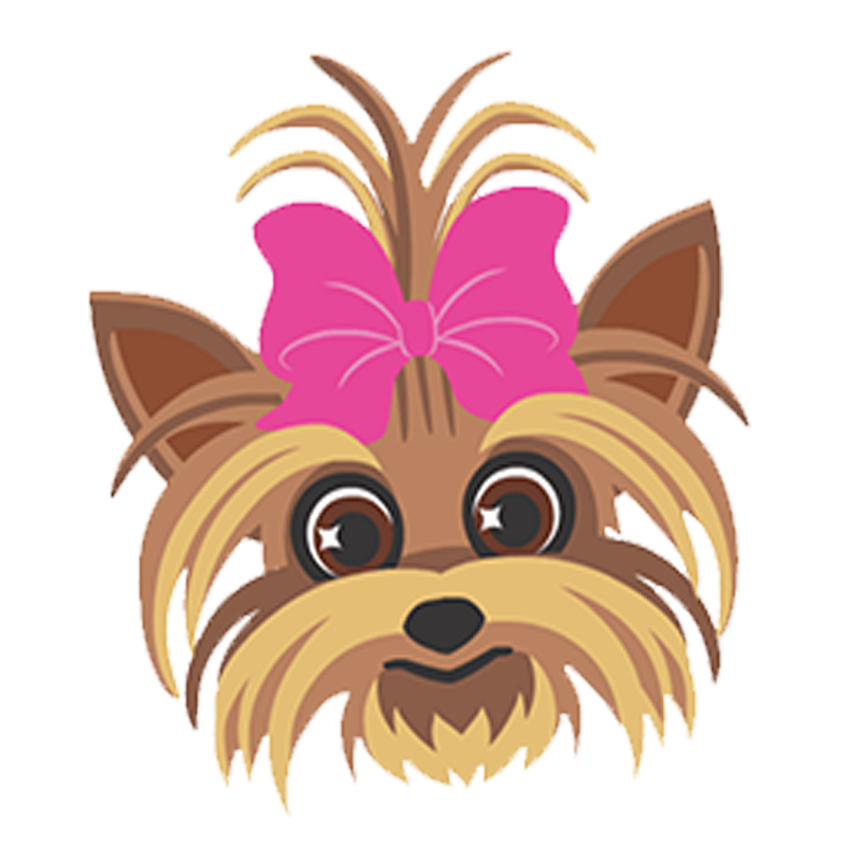 Ugly dog clipart clipart BowBow, Jojo Siwa's Yorkie dog. Clipart image. | Audreys 5th ... clipart