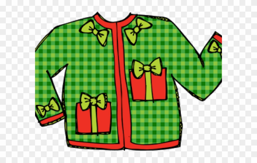 Ugly sweater patterns clipart black and white transparent download Transparent Ugly Sweater Clipart - Png Download (#1033200 ... transparent download