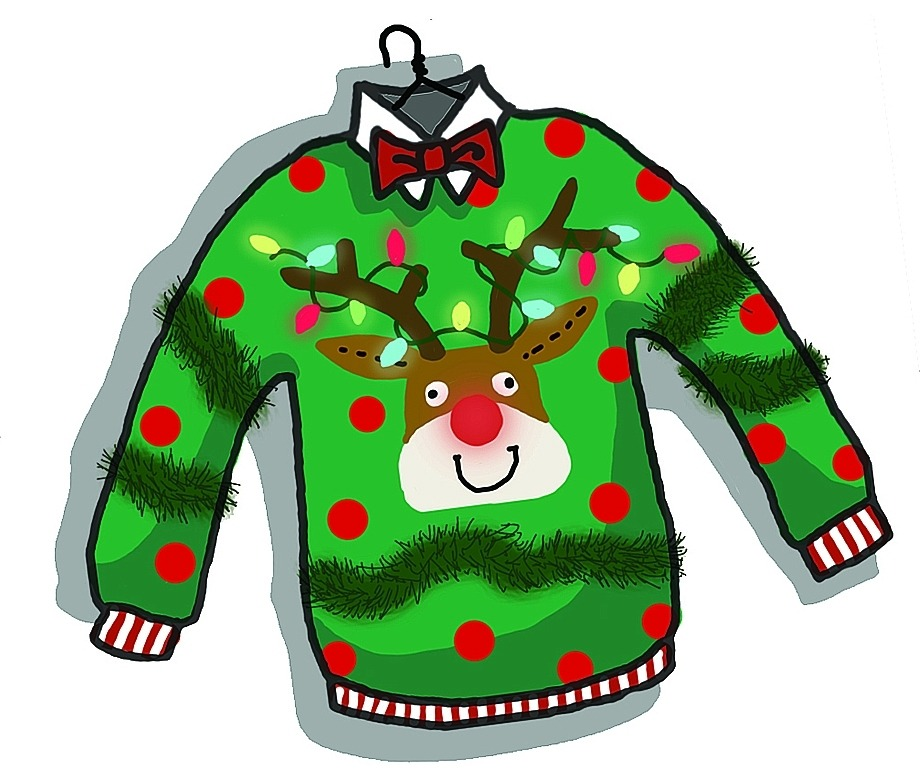Tacky holiday sweater clipart clipart royalty free library Free Ugly Sweater Clipart   Free download best Free Ugly ... clipart royalty free library