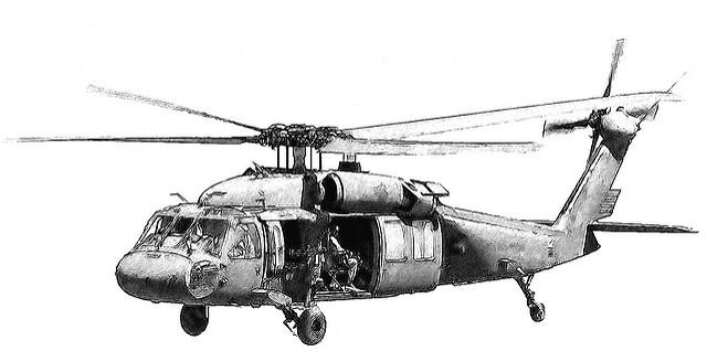 Uh 60 blackhawk clipart clipart royalty free Black Hawk Helicopter Clipart - Clipart Kid clipart royalty free
