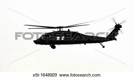 Uh 60 blackhawk clipart clip art transparent library Stock Photograph of Silhouette of an Israeli Air force Black Hawk ... clip art transparent library
