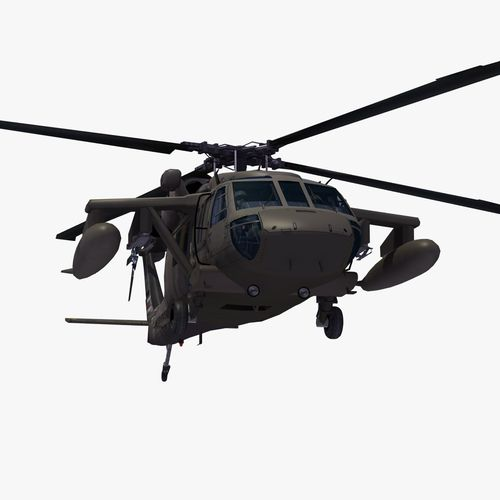 Uh 60 clipart picture free download UH60 Blackhawk Helicopter 3D Model MAX OBJ 3DS FBX LWO LW LWS HRC ... picture free download