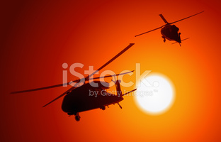 Uh 60 clipart clip art transparent download UH 60 Blackhawk Transport Helicopters Passing BY AS The Sun Sets ... clip art transparent download