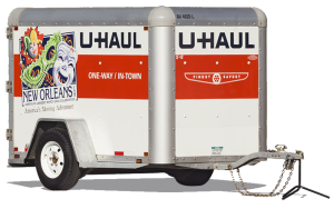 Uhalu moving van clipart black