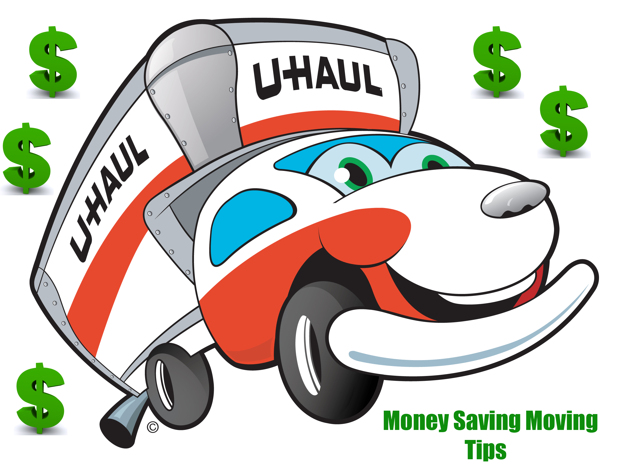 Uhalu moving van clipart black png free U-Haul: About: Money Saving Moving Tips And More png free